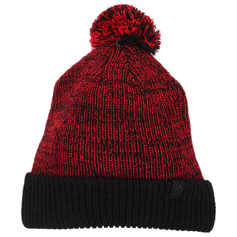 RIPZONE BOYS FROSTY POM TOQUE BARBADOS RED
