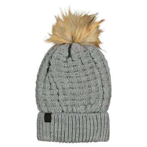 RIPZONE GIRLS NOEMIE POM TOQUE QUIET GRAY