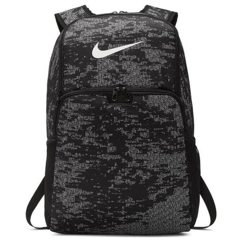 NIKE BRASILIA XL BACKPACK 9.0 AOP BLACK