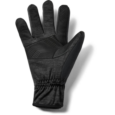 UNDER ARMOUR MEN'S COLD GEAR INSULATED STORM GLOVE BLACK/JET GRAY