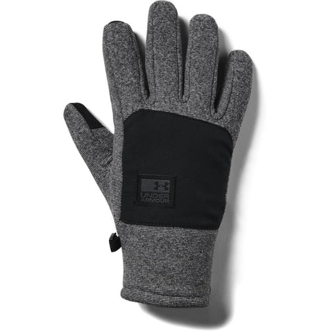 UNDER ARMOUR MEN'S COLD GEAR INSULATED FLEECE GLOVE BLACK
