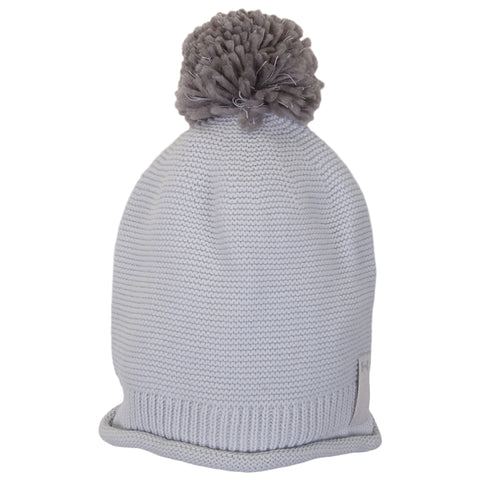 UNDER ARMOUR WOMEN'S ESSENTIALS POM BEANIE HALO GREY