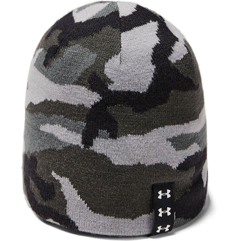 UNDER ARMOUR BOYS BILLBOARD BEANIE PITCH GREY/BLACK