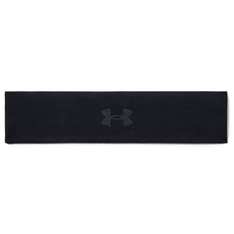 UNDER ARMOUR WOMEN'S JACQUARD PERFORMANCE HEADBAND BLACK