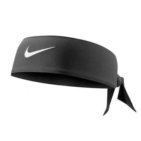 NIKE DRY FIT HEAD TIE 3.0 BLACK/WHITE