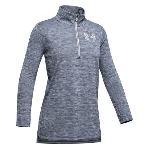 UNDER ARMOUR GIRL'S TECH 1/4 ZIP DOWNPOUR
