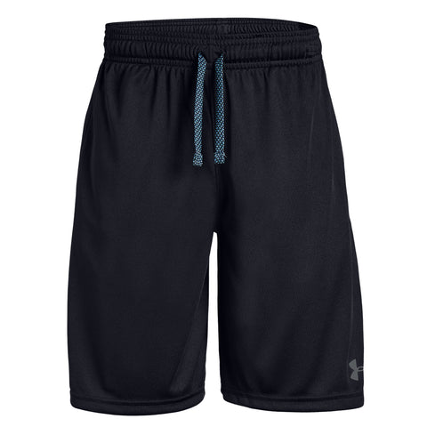 UNDER ARMOUR BOY'S PROTOTYPE WORDMARK SHORT BLACK/PITCH GREY