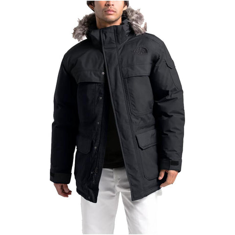 THE NORTH FACE MEN'S MCMURDO III PARKA BLACK MODEL