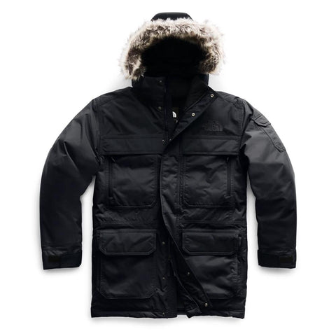THE NORTH FACE MEN'S MCMURDO III PARKA BLACK