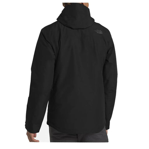 THE NORTH FACE MEN'S INLUX INSULATED JACKET BLACK BACK