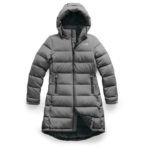 THE NORTH FACE WOMEN'S METROPOLIS PARKA III MEDIUM GREY HEATHER