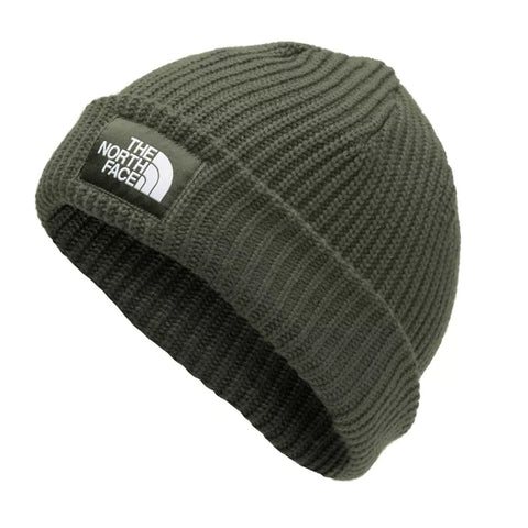 THE NORTH FACE MEN'S SALTY DOG BEANIE NEW TAUPE GREEN