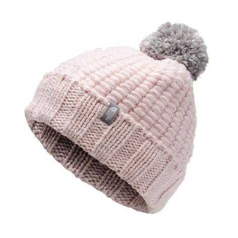 THE NORTH FACE WOMEN'S PR COZY CHUNKY BEANIE PURDY PINK