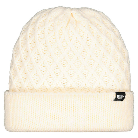 THE NORTH FACE WOMEN'S SHINSKY BEANIE WHITE