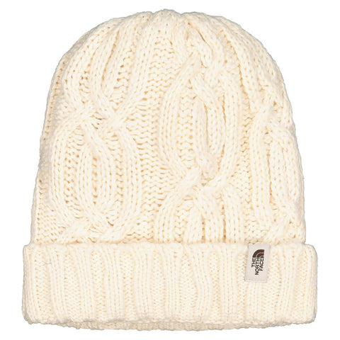 THE NORTH FACE YOUTH CABLE MINNA BEANIE VINTAGE WHITE