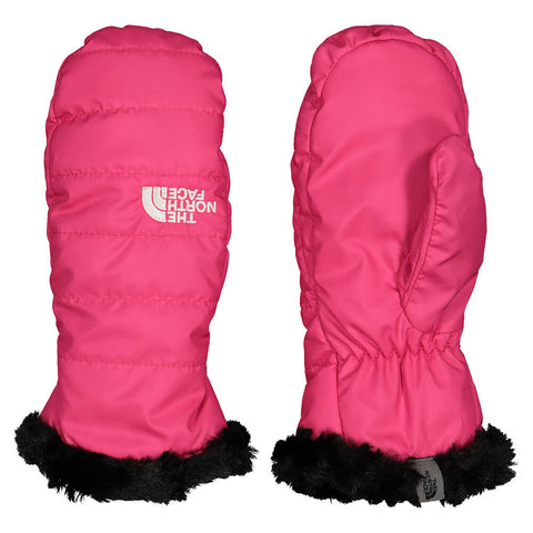 THE NORTH FACE GIRLS MOSSBUD SWIRL MITTEN MR.PINK