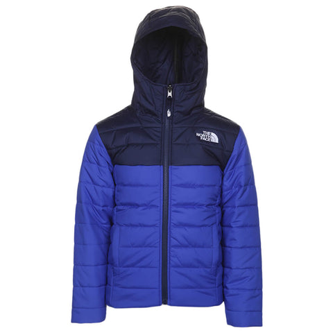 THE NORTH FACE BOYS REVERSIBLE PERRITO JACKET BLUE