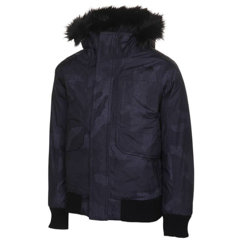 THE NORTH FACE BOYS GOTHAM BLACK CAMO