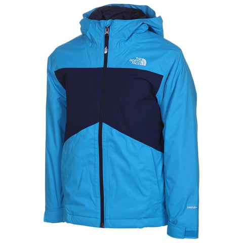 THE NORTH FACE BOYS CLEMENT TRICLIMATE ACOUSTIC BLUE