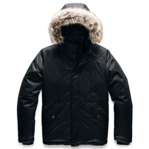 THE NORTH FACE GIRLS GREENLAND DOWN PARKA BLACK