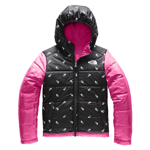 THE NORTH FACE GIRLS REVERSIBLE PERRITO JACKET MR.PINK