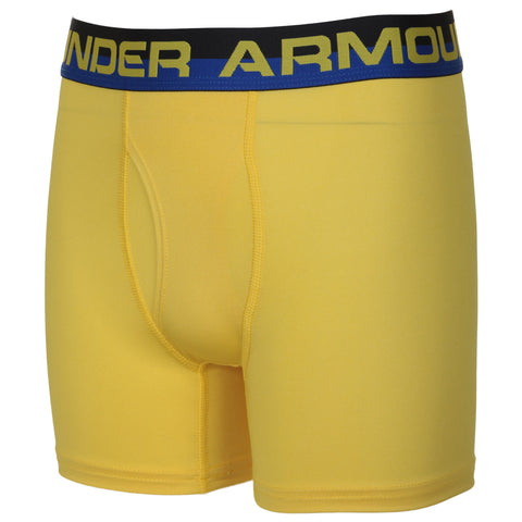 UNDER ARMOUR BOY'S 2 PACK TWIST PERFORMANCE BOXER SET ROYAL TWIST