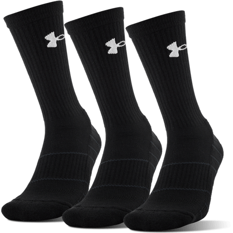 UNDER ARMOUR M ELEVATE PERF CREW 3PL LRG BLK