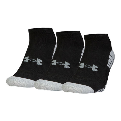 UNDER ARMOUR M GOLF HG TECH NOSHOW 3PK LRG BLK