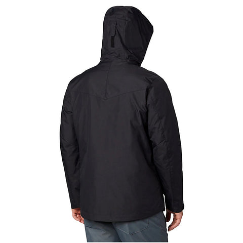 COLUMBIA MEN'S WHIRLIBIRD INTERCHANGE JACKET BLACK