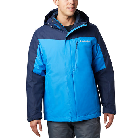 COLUMBIA MEN'S WHIRLIBIRD INTERCHANGE JACKET AZURE BLUE/NAVY