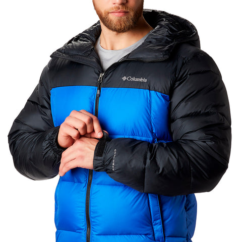 COLUMBIA MEN'S PIKE LAKE HOODED JACKET AZUL/BLACK