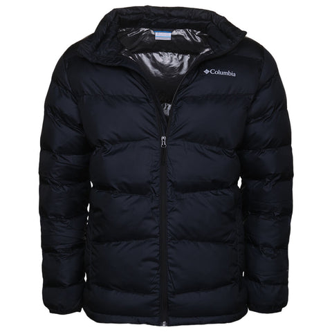 COLUMBIA MEN'S FIVEMILE BUTTE JACKET BLACK FRONT