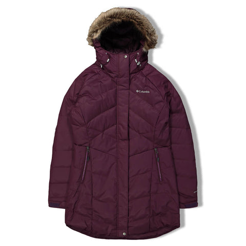 COLUMBIA WOMEN'S LAY D DOWN II JACKET BLACK CHERRY