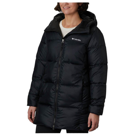 COLUMBIA WOMEN'S PUFFECT MID HOODED JACKET BLACK