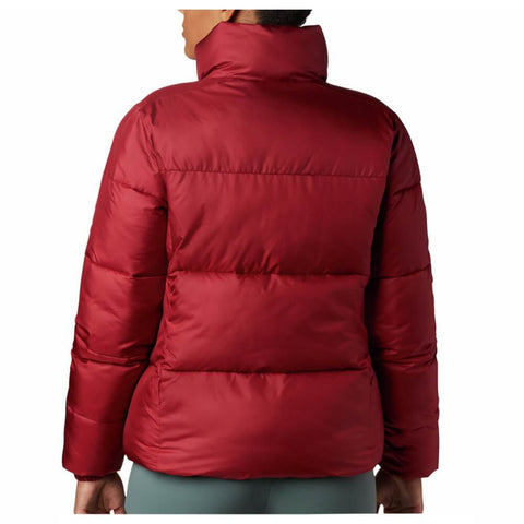 COLUMBIA WOMEN'S PUFFECT JACKET BEET BACK