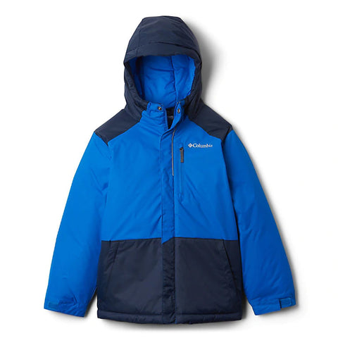COLUMBIA BOYS LIGHTNING LIFT JACKET SUPER BLUE/NAVY