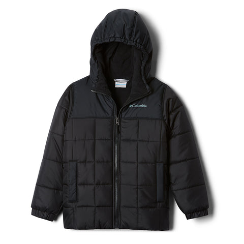 COLUMBIA GIRLS PUFFECT II PUFFER BLACK