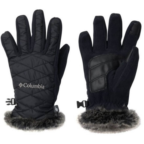 COLUMBIA WOMEN'S HEAVENLY GLOVE BLACK