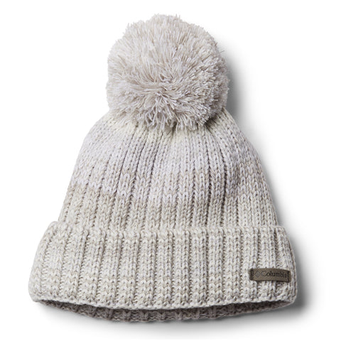 COLUMBIA WOMEN'S WINTER BLUR BEANIE CHALK