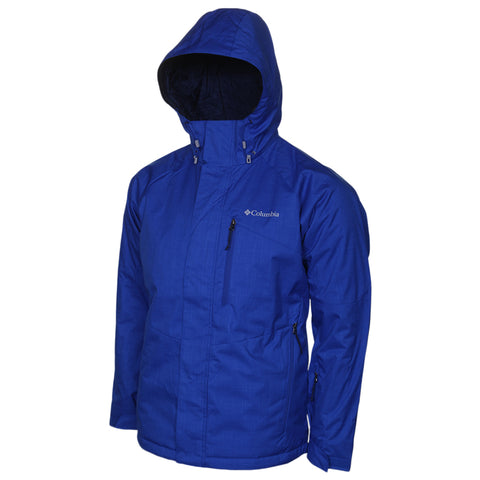 COLUMBIA MEN'S CHUTERUNNER II JACKET AZUL HEATHER