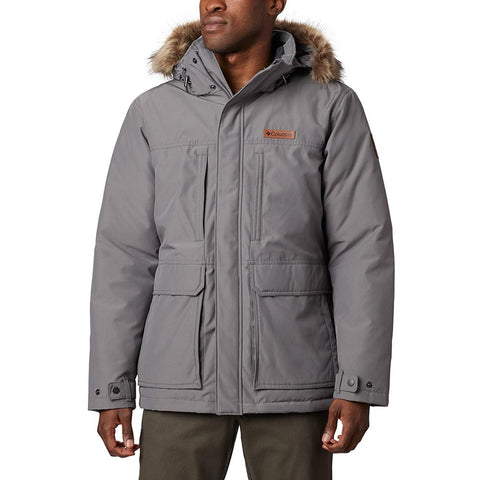 COLUMBIA MEN'S MARQUAM PEAK JACKET CITY GREY
