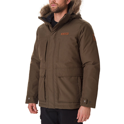COLUMBIA MEN'S MARQUAM PEAK JACKET OLIVE GREEN