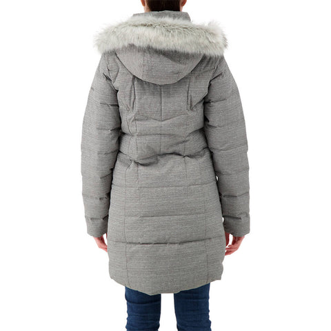COLUMBIA WOMEN'S MONTFERLAND MID JACKET CITY GREY TEXTURE