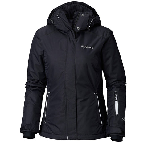 COLUMBIA WOMEN'S ON THE SLOPE JACKET BLACK