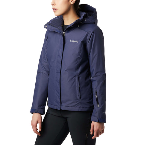 COLUMBIA WOMEN'S ON THE SLOPE JACKET NOCTURNAL