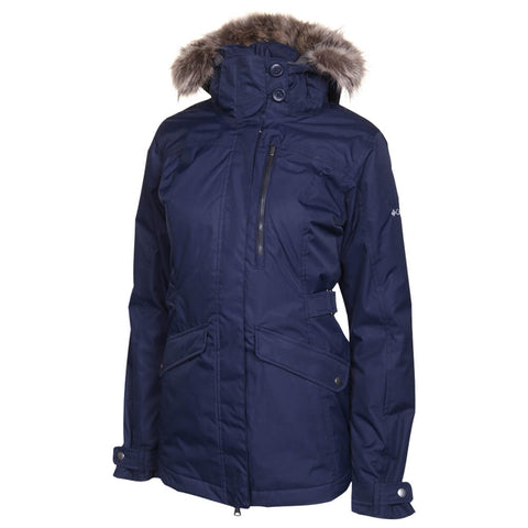 COLUMBIA WOMEN'S FOGGY BREAKER JACKET DARK NOCTURNAL