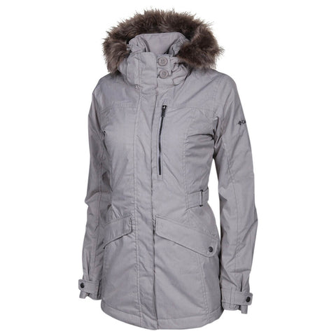 COLUMBIA WOMEN'S FOGGY BREAKER JACKET FLINT GREY