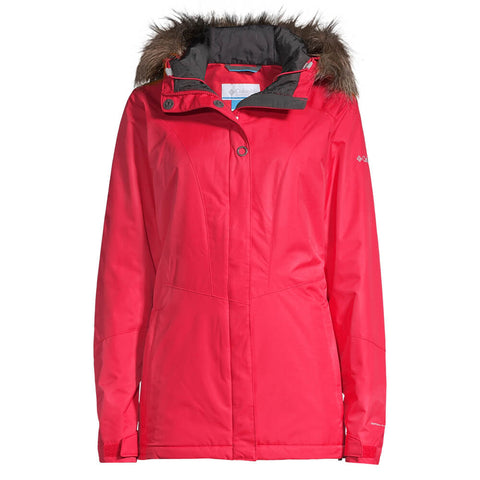 COLUMBIA WOMEN'S ICEBERG LAKE JACKET RED LILY