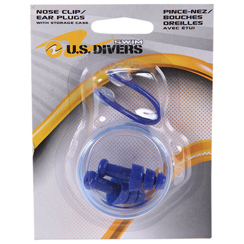 US DIVERS US DIVERS TPR EAR PLUG NOSE CLIP SET