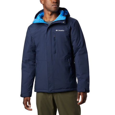 COLUMBIA MEN'S MURR PEAK II JACKET COLLEGIATE NAVY